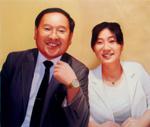 夫婦の人物肖像画4 Y・J様ご注文分